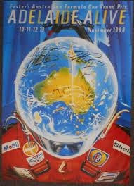 1988 Australia Grand Prix Poster