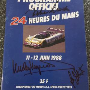 1988 Le Mans Program