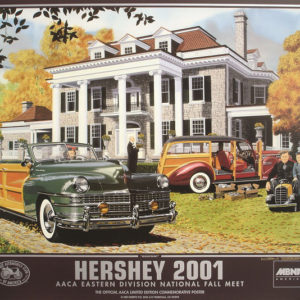 2001 Hersey Poster - Ken Eberts