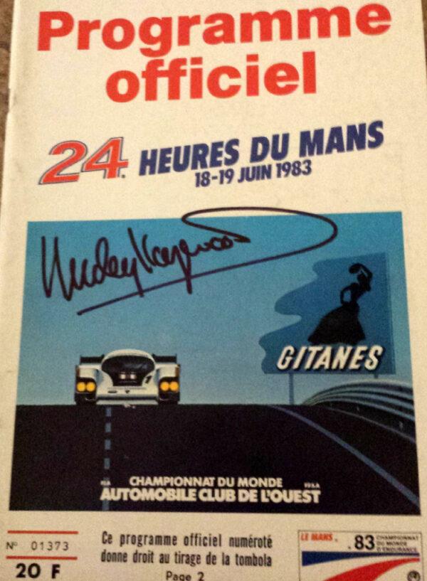 24 Hours of Le Mans 1983 Program