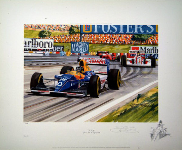 76 To Go Print with artist remarque