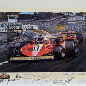 Ferrari Ascendant with 12 Signatures - Nicholas Watts