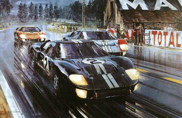 Ford v Ferrari movie - Ford GT 40 Le Mans 1066