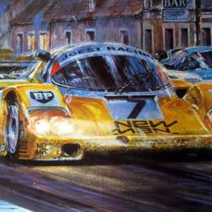 Le Mans 1985 Print - Nicholas Watts