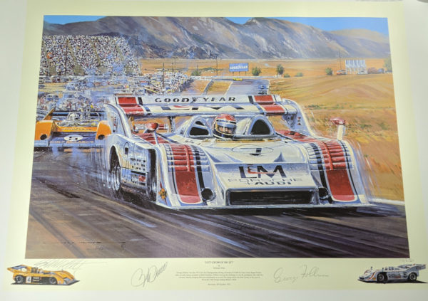 Let George Do It Signed by Penske and Follmer