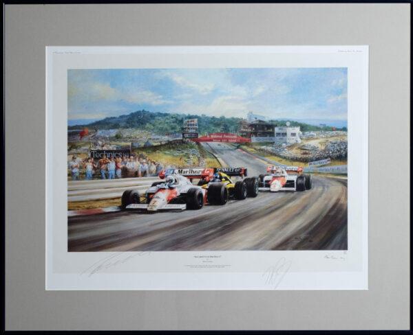 McLaren Supremacy by Alan Fearnley - Framed