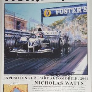 Monaco 04 Poster - Nicholas Watts