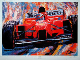 Schumy Print by Bill Patterson