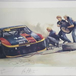 Tire Change - Sandra Leitzinger