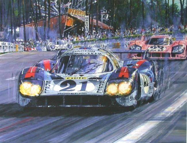 Autorennen Le Mans