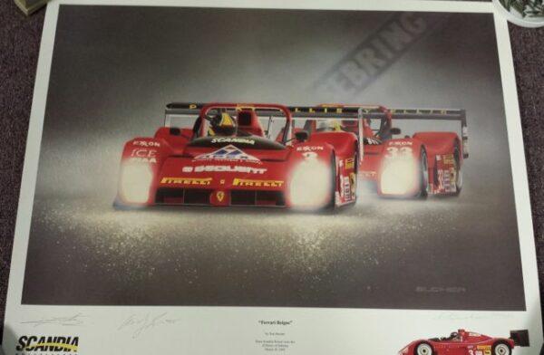 Ferrari Reigns Print