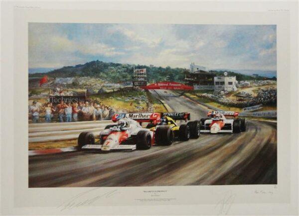 McLaren Supremacy - Alan Fearnley