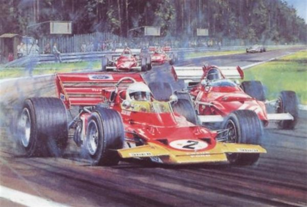 Tribute to Jochen Rindt by Nicholas Watts
