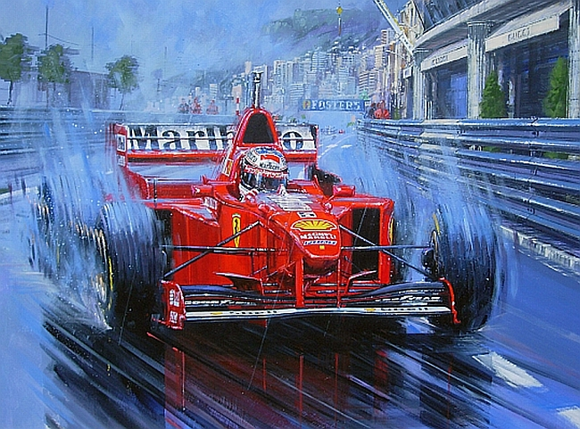 Michael Schumacher: The Rain King