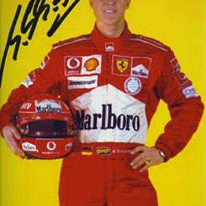 Michael Schumacher Autographed Photo