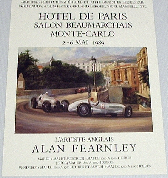 Monaco Hotel De Paris 1989