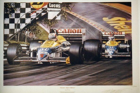 Williams Honda Supremacy - Nicholas Watts