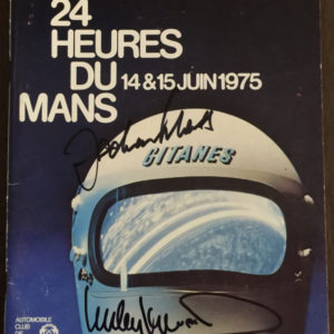 1975 Le Mans Program