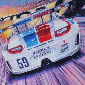 Back at Daytona by Roger Warrick
