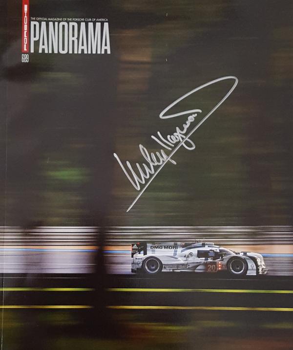 Panorama Porsche Car: Porsche Panorama Magazine August 2014 Autographed By