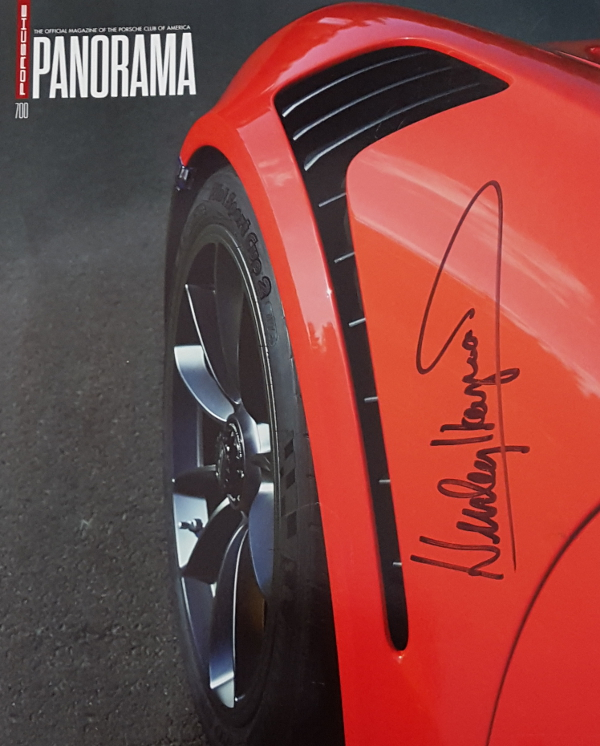 Panorama Porsche Car: Porsche Panorama July 2015 Autographed By Hurley Haywood