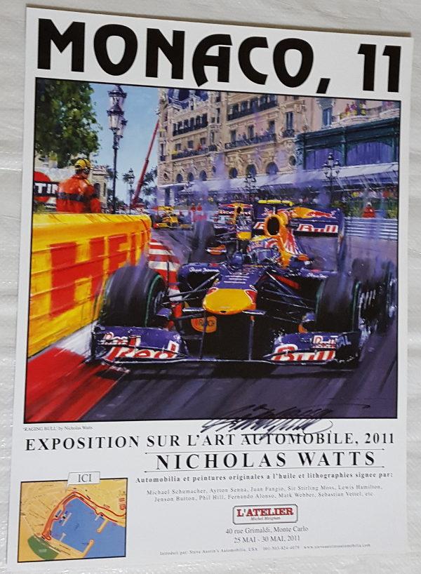 Monaco 11 Poster - Nicholas Watts