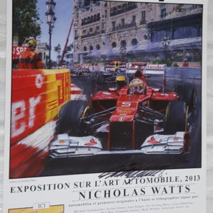 Monaco 13 Poster - Nicholas Watts