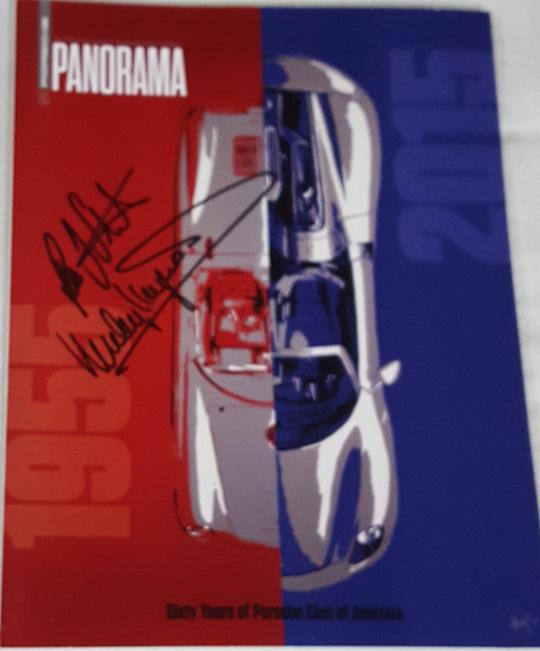 Porsche Panorama Dec 2015 - 2 Signatures