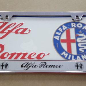 Alfa Romeo Plate