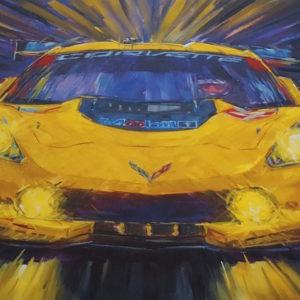 Corvette C7.R by Roger Warrick