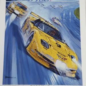 Earnhardt at the 24 Hours of Daytona - Roger Warrick