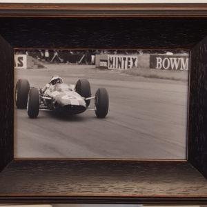 Jim Clark 1965 Silverstone Framed Photo