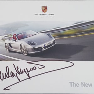 The New Boxster 2012 Brochure