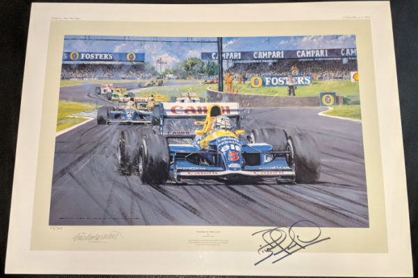 Leader of the Pack Signed by Mansell