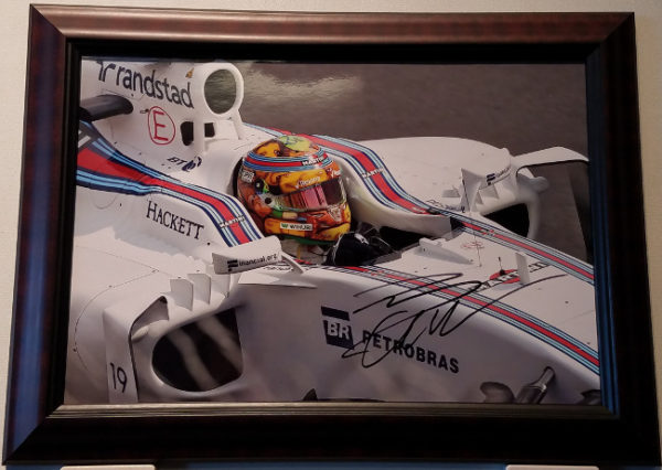 Felipe Rides Again Autographed Photo