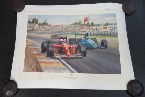 Ferrari 100 - Alan Fearnley