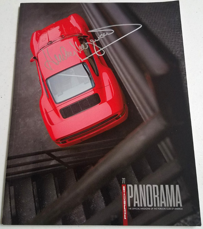 Panorama Porsche Car: Porsche Panorama December 2016 Signed By Haywood