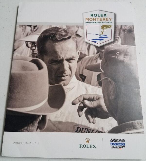 Rolex 2017 Program Back Cover