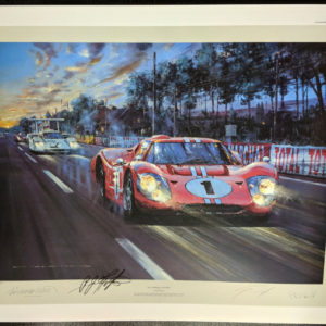 All American Victory by Watts plus Foyt Signed