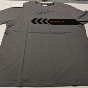Front of Porsche t-shirt