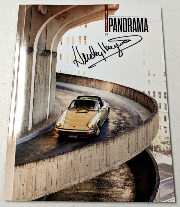Porsche Panorama Nov 2017 Signed by Haywood