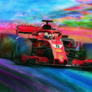 Horseplay Sebastian Vettel
