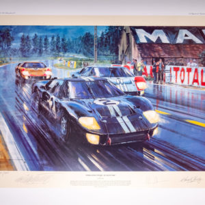 Formation Finish by Nicholas Watts Autographed