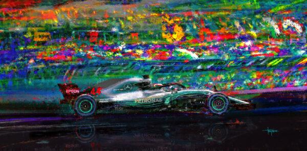 Gimme Five Lewis Hamilton - Alan Greene