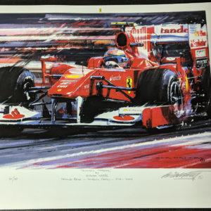 Alonso's Ferrari - Nicholas Watts