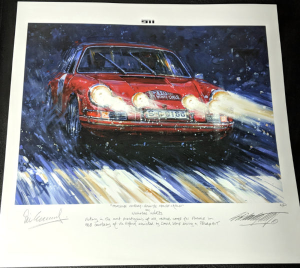 Porsche Victory - Rally Monte Carlo - Nicholas Watts