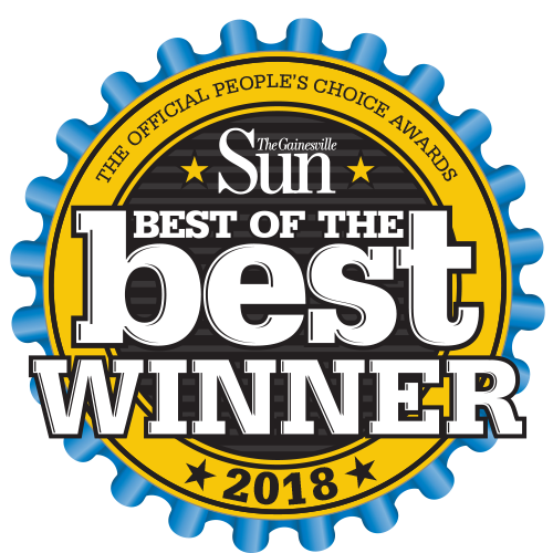 Gainesville Florida Best of the best winner