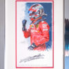 Charles Leclerc First Victory Autographed Painting