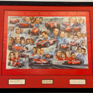 29 Signature Ferrari GP History - Alan Fearnley
