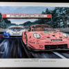 LeMans 2018 Pink Pig - Rothmans Retro - Roger Warrick